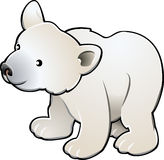 Cute Polar Bear Vector Illustr Stock Images