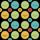 Cute Polka Dot Background Stock Image
