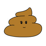Cute Poop Cartoon Stock Photo