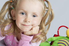 Cute portrait Royalty Free Stock Images