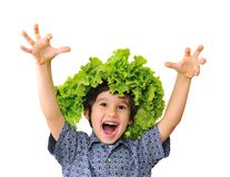 Cute positive kid Royalty Free Stock Photography
