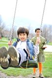 Cute positive kid Royalty Free Stock Image