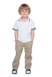 Cute preschool boy Royalty Free Stock Images