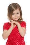 Cute preschool girl Royalty Free Stock Photography
