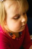 Cute preschool girl Stock Image