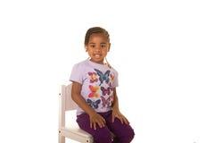 Cute preschooler Royalty Free Stock Images