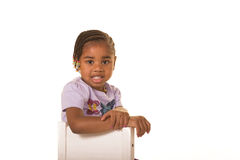 Cute preschooler Royalty Free Stock Photo