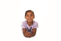 Cute preschooler Stock Image