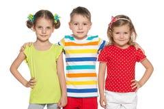 Cute preschoolers Royalty Free Stock Photo