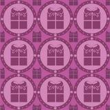 Cute presents pattern Stock Photos