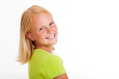 Cute preteen girl Royalty Free Stock Photography