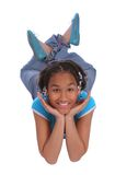 Cute preteen relaxing Royalty Free Stock Photography