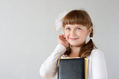 Cute preteen schoolgirl portrait Stock Photography
