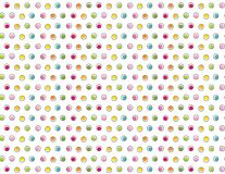 Cute primary color mini dots seamless pattern. Background for a variety of uses. EPS file has global colors for easy color changes Royalty Free Stock Image