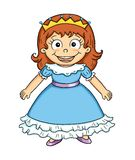 Cute princess Royalty Free Stock Photos