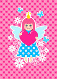 Cute princess Stock Image