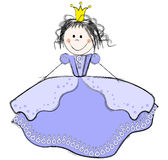 Cute Princess Royalty Free Stock Photo