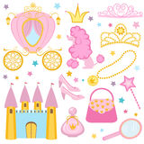 Cute princess collection Royalty Free Stock Photography