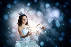 She is cute princess Royalty Free Stock Photography