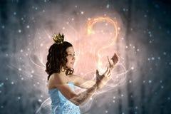 She is cute princess Stock Image