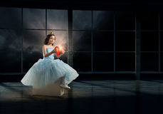She is cute princess Stock Photography