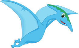 Cute pterodactyl cartoon Stock Photography