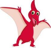Cute pterodactyl cartoon Royalty Free Stock Image