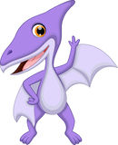 Cute pterodactyl cartoon Stock Photo