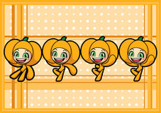 Cute pumpkin boy Royalty Free Stock Photo
