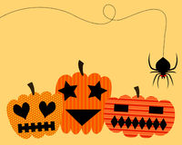 Cute pumpkin halloween Royalty Free Stock Photography