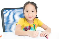 Cute pupil Royalty Free Stock Photography