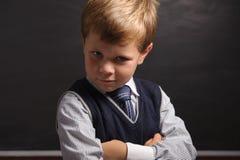 Pupil portrait Stock Photo