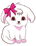 Cute puppy. A illustration of cute puppy Stock Images
