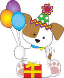 Cute Puppy Birthday Royalty Free Stock Photo