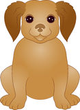 Cute Puppy cartoon Stock Photo