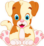 Cute puppy cartoon Royalty Free Stock Photo