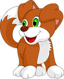 Cute puppy cartoon Royalty Free Stock Photos