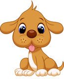 Cute puppy cartoon Stock Photography
