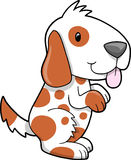 Cute Puppy Dog Vector. Illustration Royalty Free Stock Images