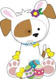 Cute Puppy Easter Royalty Free Stock Image