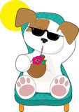 Cute Puppy Holiday Royalty Free Stock Images