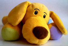 Cute puppy toy digital drawing Stock Image