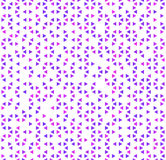Cute purple triangles on white, abstract seamless pattern Royalty Free Stock Photography