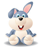 Cute Rabbit. Isolated illustration of cute rabbit Stock Photo