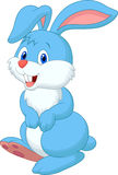 Cute rabbit cartoon Stock Image