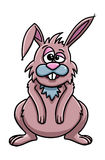 Cute rabbit cartoon. Illustration of cute rabbit cartoon Stock Image