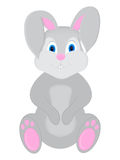 Cute rabbit cartoon - Illustration. Illustration of happy rabbit cartoon stock illustration