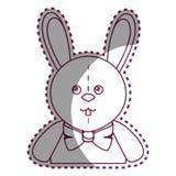 Cute rabbit plush doll Royalty Free Stock Photo