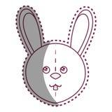 Cute rabbit plush doll Royalty Free Stock Image