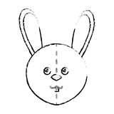 Cute rabbit plush doll Royalty Free Stock Images